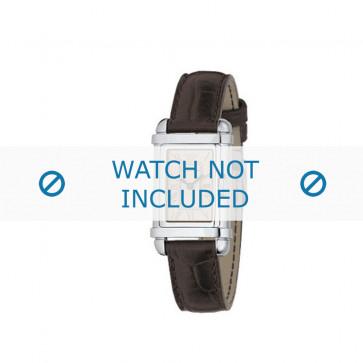 Armani bracelet de montre AR0260 Cuir Brun 14mm