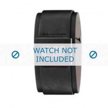 Armani bracelet de montre AR-7000 Cuir Noir