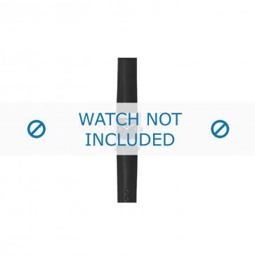 Armani bracelet de montre AR-5601 Cuir Noir 18mm