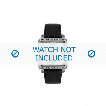Armani bracelet de montre AR-5650 Cuir Noir 22mm