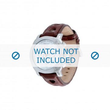 Armani bracelet de montre AR-5824 Cuir Brun foncé
