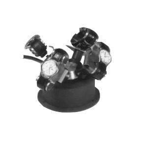 Montre Winder - Convient pour 4 montres - Noir