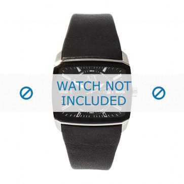 Armani bracelet de montre AX-2080 Cuir Noir 35mm