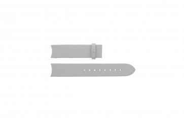 Breil bracelet de montre TW0287 / BW0172 Cuir Blanc 18mm