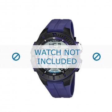 Bracelet de montre Calypso K5607-2 Caoutchouc Bleu 20mm