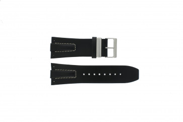 Davis bracelet de montre BB0583 Cuir Noir 30mm