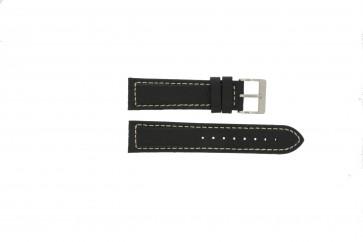 Bracelet de montre Davis BB1020 Cuir Noir 22mm