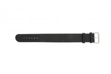 Danish Design bracelet de montre IV13Q676 / IV12Q676 Cuir Noir 24mm