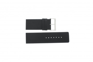 Davis bracelet de montre BB0330 Cuir Noir 30mm