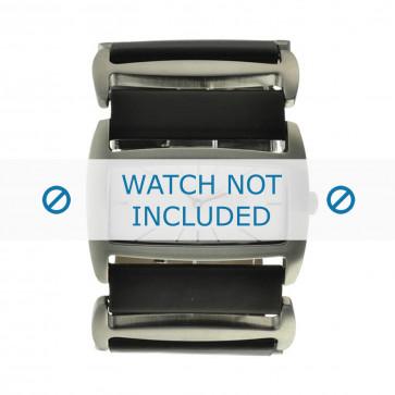 Bracelet de montre Davis 0751 Cuir Noir 36mm