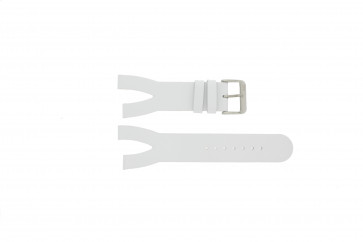 Davis bracelet de montre BB1401 Cuir Blanc 30mm