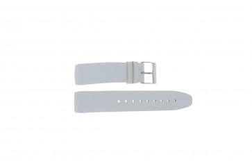 Davis bracelet de montre BB1544 Cuir Blanc 22mm