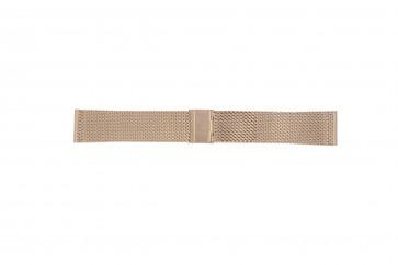 Davis bracelet de montre BB0813 Métal Rosé 22mm