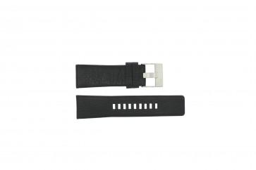 Diesel bracelet de montre DZ1207 Cuir Noir 26mm