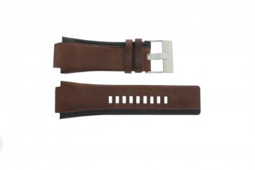 Bracelet de montre Diesel DZ1092 Cuir Brun 22mm