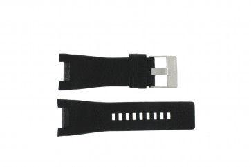 Diesel bracelet de montre DZ-1215 Cuir Noir 32mm