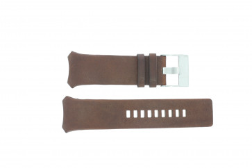 Diesel bracelet de montre DZ3037 Cuir Brun 32mm