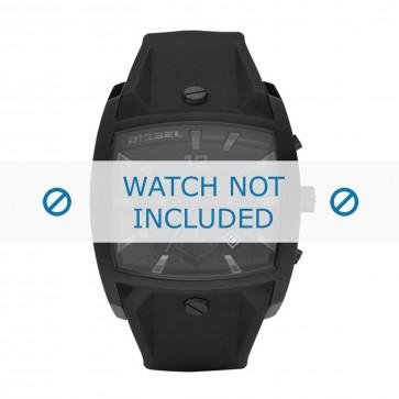 Bracelet de montre Diesel DZ4196 Silicone Noir 32mm