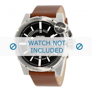 Bracelet de montre Diesel DZ4270 Cuir Cognac 24mm