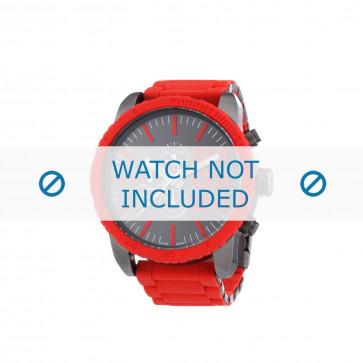 Diesel bracelet de montre DZ4289 Métal Rouge 26mm