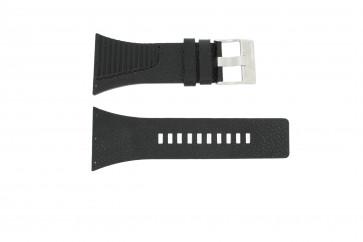Bracelet de montre Diesel DZ7184 / DZ7180 Cuir Noir 25mm