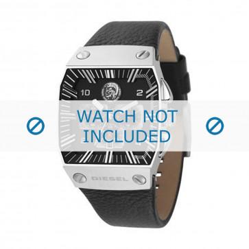 Diesel bracelet de montre DZ9013 Cuir Noir 30mm