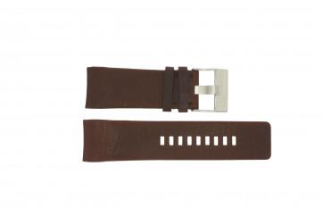 Diesel bracelet de montre DZ4029 Cuir Brun 28mm