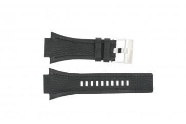 Bracelet de montre Diesel DZ4172 Cuir Noir 22mm