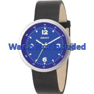 Bracelet de montre DKNY NY2008 Cuir Noir 20mm