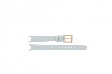 Bracelet de montre DKNY NY8784 Cuir Blanc 8mm