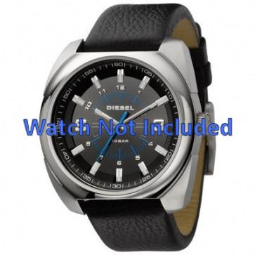 Bracelet de montre Diesel DZ1247 Cuir Noir 26mm