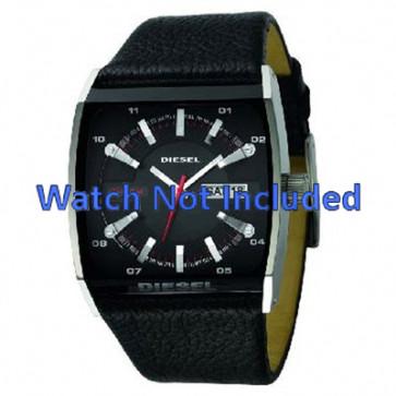Bracelet de montre Diesel DZ1253 Cuir Noir 34mm