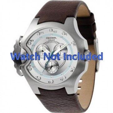 Bracelet de montre Diesel DZ4132 Cuir Brun 17mm