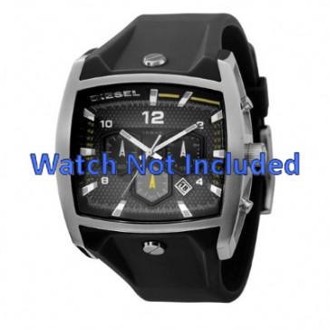 Bracelet de montre Diesel DZ4165 Silicone Noir 33mm