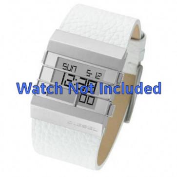 Bracelet de montre Diesel DZ7087 Cuir Blanc 36mm