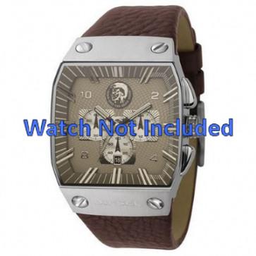 Bracelet de montre Diesel DZ9038 Cuir Brun 32mm
