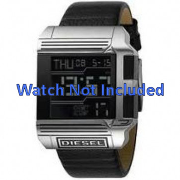 Bracelet de montre Diesel DZ7113 Cuir Noir 26mm