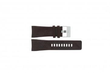 Bracelet de montre Diesel DZ1317 Cuir Brun 29mm