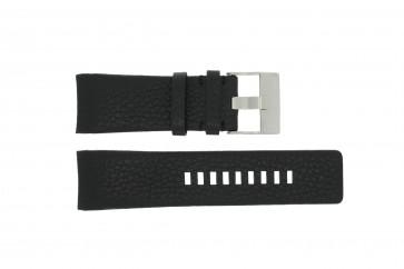 Diesel bracelet de montre DZ4031 / DZ4032 / DZ4028 Cuir Noir 29mm