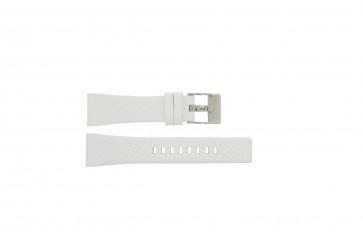 Bracelet de montre Diesel DZ5102 Cuir Blanc 23mm