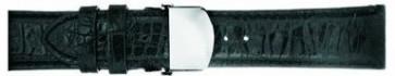 Bracelet de montre Mark Ecko E01000G1 Cuir Noir