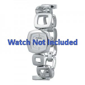 Fossil bracelet de montre ES1869 / ES1884 / ES1964 Métal Argent 15mm