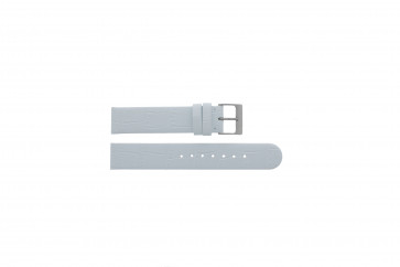 Festina bracelet de montre F16021/B Cuir Blanc 18mm