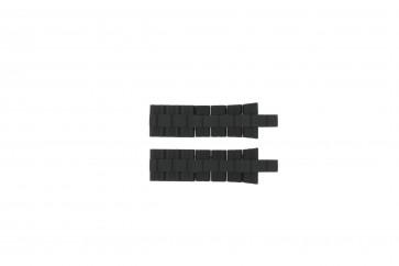 Bracelet de montre Festina F16659-1 / F16659-5 Acier/Silicone Noir 8mm