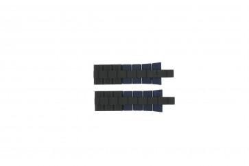 Bracelet de montre Festina F16659/2 Acier/Silicone Bleu 24mm