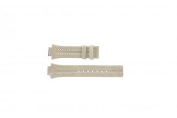 Festina bracelet de montre F16186/4 Cuir Brun 14mm + coutures blanches