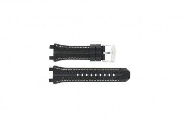 Bracelet de montre Festina F16350/1 Caoutchouc Noir 23mm