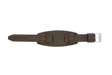 Fossil bracelet de montre JR1395 Cuir Brun 20mm