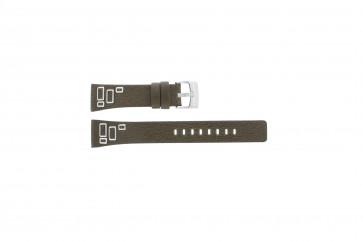 Fossil bracelet de montre JR-9519 Cuir Brun 20mm