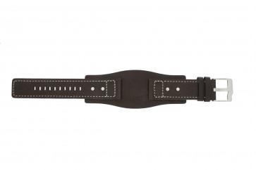 Fossil bracelet de montre JR9990 Cuir Brun 24mm